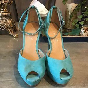 Aldo Galler Peep Toe Shoes